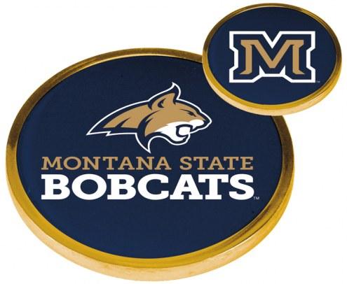 Montana State Bobcats Flip Coin