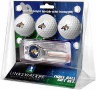 Montana State Bobcats Golf Ball Gift Pack with Kool Tool