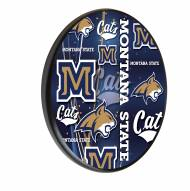 Montana State Bobcats Digitally Printed Wood Sign