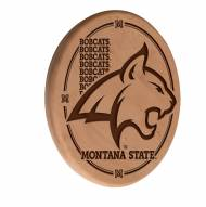 Montana State Bobcats Laser Engraved Wood Sign