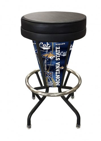 Montana State Bobcats Indoor/Outdoor Lighted Bar Stool