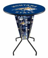 Montana State Bobcats Indoor/Outdoor Lighted Pub Table