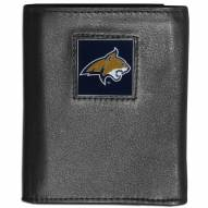 Montana State Bobcats Leather Tri-fold Wallet