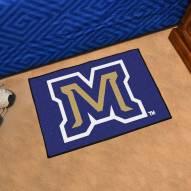 Montana State Bobcats Logo Starter Rug
