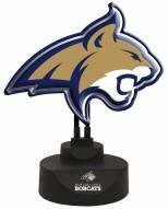 Montana State Bobcats Team Logo Neon Light