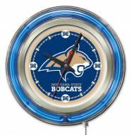 Montana State Bobcats Neon Clock