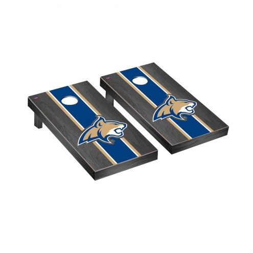 Montana State Bobcats Onyx Stained Cornhole Game Set