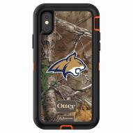 Montana State Bobcats OtterBox iPhone X Defender Realtree Camo Case