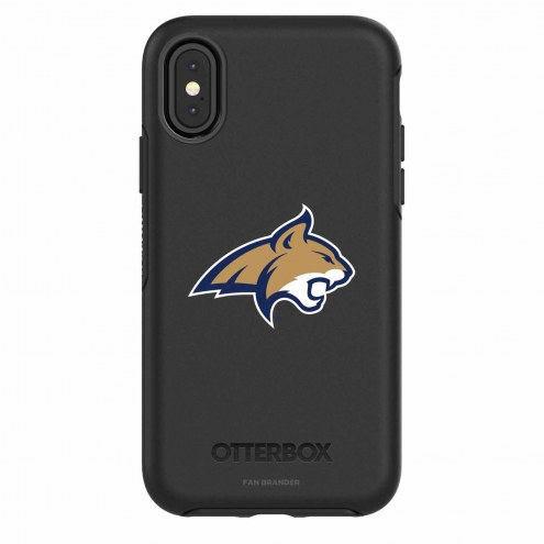 Montana State Bobcats OtterBox iPhone X Symmetry Black Case