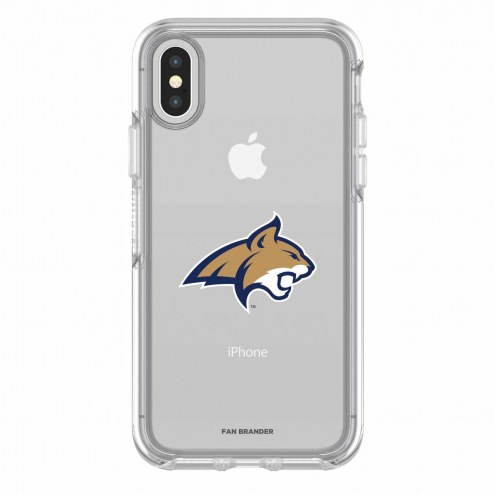 Montana State Bobcats OtterBox iPhone X Symmetry Clear Case