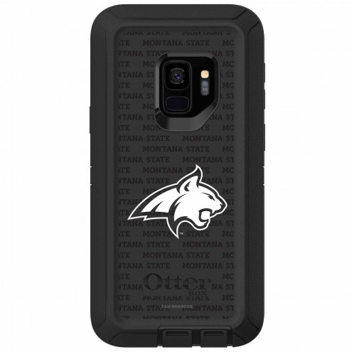 Montana State Bobcats OtterBox Samsung Galaxy S9 Defender Black Case