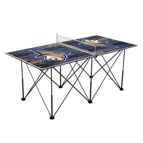 Montana State Bobcats Pop Up 6' Ping Pong Table