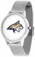 Montana State Bobcats Silver Mesh Statement Watch