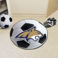 Montana State Bobcats Soccer Ball Mat