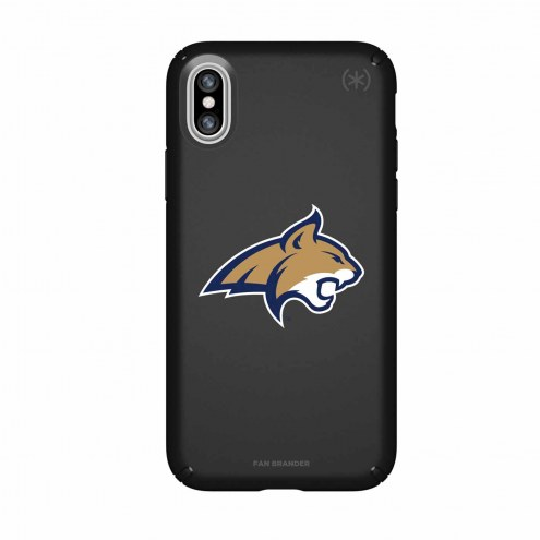 Montana State Bobcats Speck iPhone X Presidio Black Case