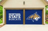Montana State Bobcats Split Garage Door Banner