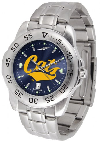Montana State Bobcats Sport Steel AnoChrome Men's Watch