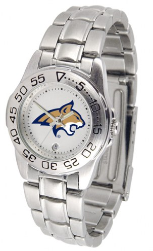 Montana State Bobcats Sport Steel Women's Watch