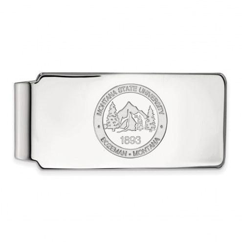 Montana State Bobcats Sterling Silver Crest Money Clip