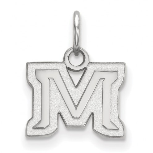 Montana State Bobcats Sterling Silver Extra Small Pendant
