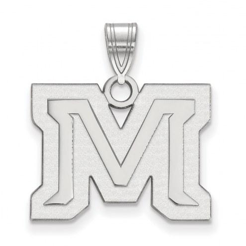 Montana State Bobcats Sterling Silver Medium Pendant