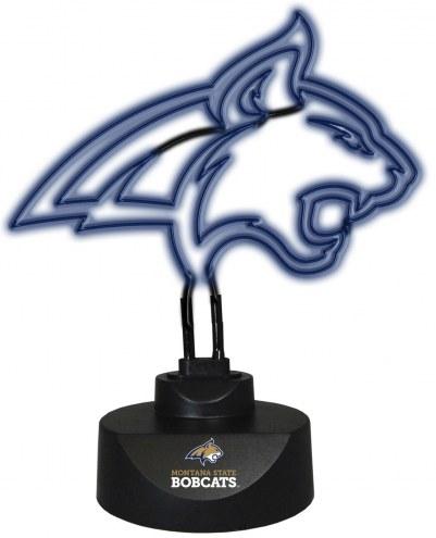 Montana State Bobcats Team Logo Neon Lamp