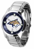 Montana State Bobcats Titan Steel Men's Watch
