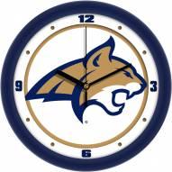 Montana State Bobcats Traditional Wall Clock