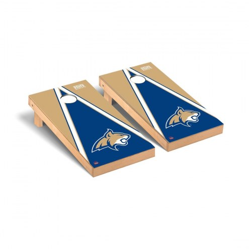 Montana State Bobcats Triangle Cornhole Game Set