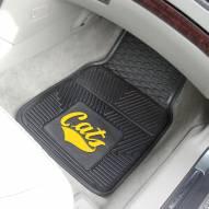 Montana State Bobcats Vinyl 2-Piece Car Floor Mats