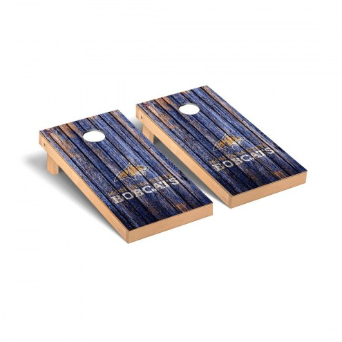 Montana State Bobcats Weathered Cornhole Game Set