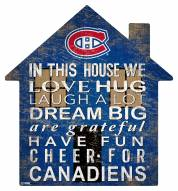 """Montreal Canadiens 12"""" House Sign"""