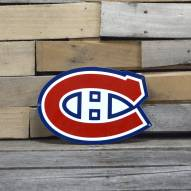 """Montreal Canadiens 12"""" Steel Logo Sign"""
