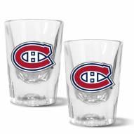 Montreal Canadiens 2 oz. Prism Shot Glass Set