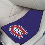 Montreal Canadiens 2-Piece Carpet Car Mats
