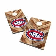 Montreal Canadiens 2' x 3' Cornhole Bag Toss