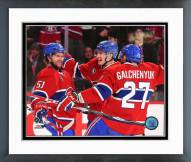 Montreal Canadiens Action Framed Photo
