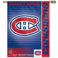 """Montreal Canadiens 27"""" x 37"""" Banner"""