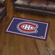 Montreal Canadiens 3' x 5' Area Rug
