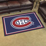 Montreal Canadiens 4' x 6' Area Rug
