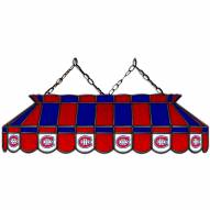 "Montreal Canadiens 40"" Stained Glass Billiard Lamp"