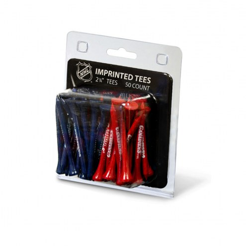 Montreal Canadiens 50 Golf Tee Pack