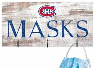 """Montreal Canadiens 6"""" x 12"""" Mask Holder"""