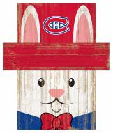 """Montreal Canadiens 6"""" x 5"""" Easter Bunny Head"""
