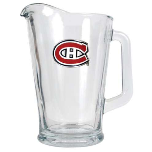 Montreal Canadiens 60 Oz. Glass Pitcher - Primary Logo