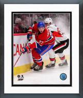 Montreal Canadiens Alex Galchenyuk Action Framed Photo