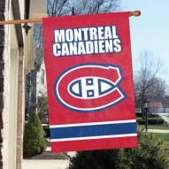 Montreal Canadiens Applique Banner Flag