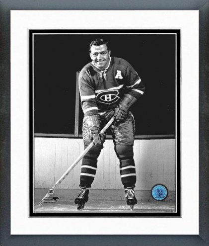 "Montreal Canadiens Bernie ""Boom Boom"" Geoffrion Framed Photo"