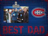 Montreal Canadiens Best Dad Clip Frame