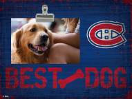 Montreal Canadiens Best Dog Clip Frame
